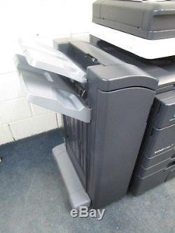 Konica Minolta Bizhub C754e Colour Photocopier & Staple Finisher