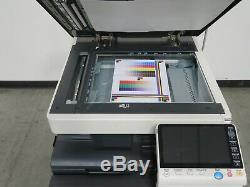Konica Minolta Bizhub C754e color copier Only 179K copies 60 page per minute