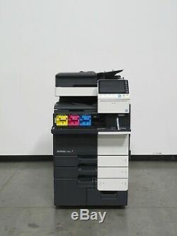 Konica Minolta Bizhub C754e color copier Only 226K copies 65 page per minute