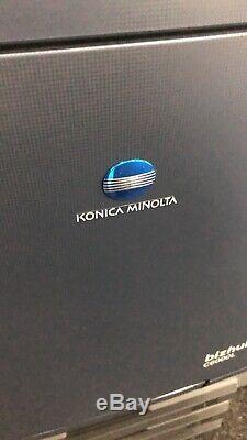 Konica Minolta Bizhub Press C6000l With Booklet Finisher & Fiery