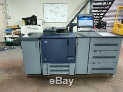 Konica Minolta Bizhub Pro C1060 With With Fiery, High Cap Tray And Finisher 2.2m