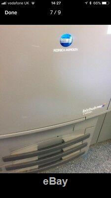 Konica Minolta Bizhub Pro C6500E Colour Copier Production Press & Fiery