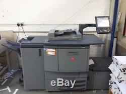 Konica Minolta Bizhub Pro C6500 Colour Press SRA3 Printer, Fiery + booklet maker
