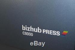 Konica Minolta Bizhub Pro C8000 Mit Efi Fiery Server Ic-306 C7000 C6000 C1060
