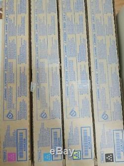 Konica Minolta Bizhub TN321M TN321Y TN321C TN321K TN-321 CMYK GENUINE NEW
