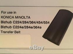 Konica Minolta Bizhub Transfer Belts KM BH C220, C228, C280, C283, C360, C363