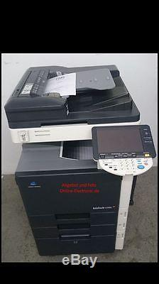 Konica Minolta Farbkopierer Bizhub C353 inkl. Fax Finisher Toner