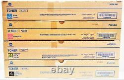 Konica Minolta SET CMYK Toner TN321 / A33K150 250 350 450 Bizhub C 224 284 364