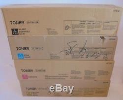Konica Minolta TN411K TN611C TN611Y TN611M Toner CYMK f. Bizhub C451 NEU