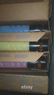 Konica Minolta TN512 Genuine Toner Set CMYK Bizhub C454/C554/e