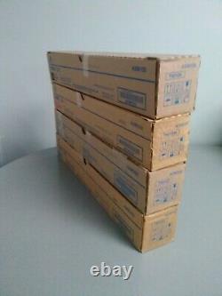 Konica Minolta TN512 Set Y, M, C, K Standard Yield Toner Cartridge BizHub C454