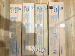 Konica Minolta TN610C TN610M TN610Y TN610K Toner CMYK BizHub PRO C5500 C6500 NEW