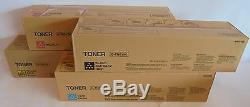Konica Minolta TN611K TN611C TN611Y TN611M Toner CYMK f. Bizhub C550 C650 NEU