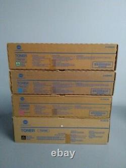 Konica Minolta TN616C TN616M TN616Y TN616K TONER CARTRIDGE BizHub Press C6000