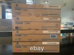 Konica Minolta TN616M TN616Y TN616K TONER CARTRIDGE BizHub Press C6000/C7000