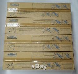 Konica Minolta TN711C TN711K TN711M TN711Y 4 Toners Bizhub C654 C654e C754 C754e