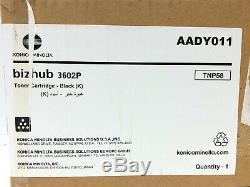 Konica Minolta TNP-58 AADY011 Toner schwarz für Bizhub 3602P
