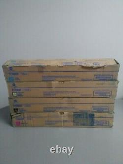 Konica Minolta TN-324Y, TN-324M, TN-324C, TN-324K, bizhub C258. C308. C368