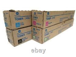Konica Minolta TN 328 full set. For Bizhub C250i, C300i and C360i New + Genuine