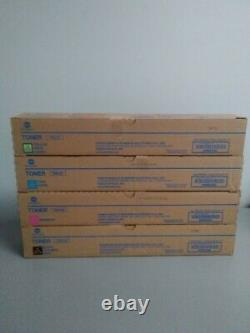 Konica Minolta TN-514Y TN-514M, TN-514C, TN-514K Toner Cartridge bizhub C458