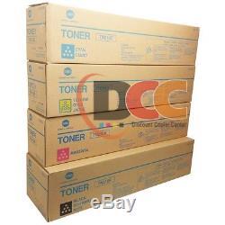 Konica Minolta Tn210c Tn210m Tn210y Tn210k Toner Set For Bizhub C250 C252 Tn210