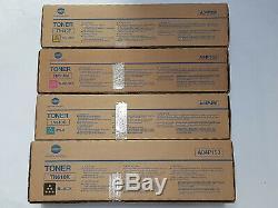 Konica Minolta Tn610 Cmyk Genuine Toner Bizhub Pro C5500 C6500 Vat Incl