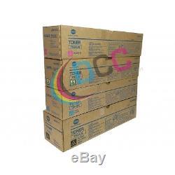 Konica Minolta Tn610 Toner Set Bizhub Pro C6500/c5500/c6500p Toner High Yield