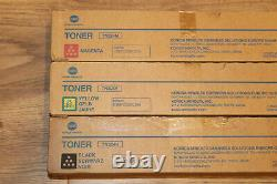 Konica Minolta Toner 3X TN324 MYK für Bizhub C258, C308, C368