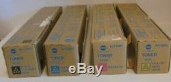 Konica Minolta Toner CMYK TN216K TN216C TN216M TN216Y f. Bizhub C220 C280 NEU