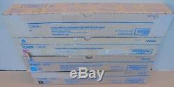 Konica Minolta Toner CMYK TN512K TN512C TN512M TN512Y f. Bizhub C454 C554 NEU