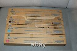 Konica Minolta Toner Set TN216K, TN216C, TN216M, TN216Y für Bizhub C220 C280 NEU