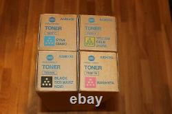 Konica Minolta Toner Set TN321 CMYK für Bizhub C224 C284 C364