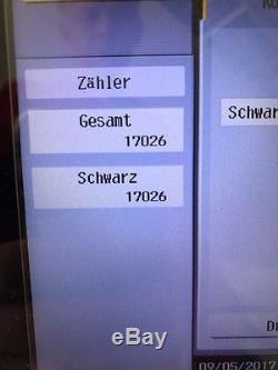 Konica Minolta bizhub 224e gebr A3 Digital s/w Kopierer Drucker Scanner 17100 S