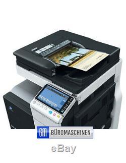 Konica Minolta bizhub C224 Farbkopierer Scan Druck erst 117971 Seiten