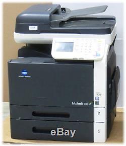 Konica Minolta bizhub C35 MFP FAX Kopierer Scanner Farblaserdrucker defekt