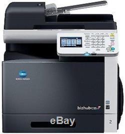 Konica Minolta bizhub C35 MFP in Farbe mit Fax unter 125.000 S. +Bastlergerät+