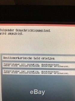 Konica Minolta bizhub C552 Farbkopierer Drucker Scanner gebr mit Efi Fiery IC412