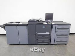 Konica Minolta bizhub PRESS 1052 copier printer scanner 105 ppm Only 965K
