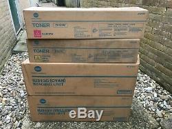 Konica Minolta iu313C + IU313Y + TN314Y + TN314M Toner Imaging Unit Bizhub C353
