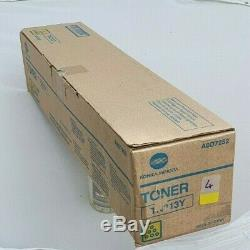 Konica minolta bizhub C253 copier plus toners and imaging units