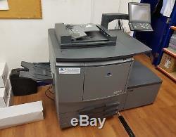 Konica minolta bizhub c6501 Extremely Low print count