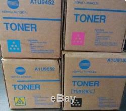 Konica minolta bizhub toner C6000L TN616C-M-Y-K COMPLETE SET BARGAIN PRICES