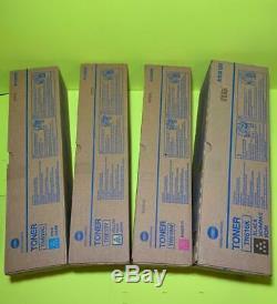 Lot Of 4 Konica Minolta Bizhub Press C6000 C7000 Toner Set High Yield