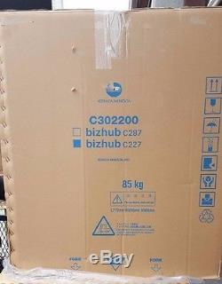 New Konica Minolta C302200 bizhub C227 Color Multifunction Printer
