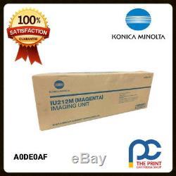 New & Original Konica Minolta A0DE0AF, IU212M Magenta Imaging Unit Bizhub C200