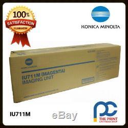 New & Original Konica Minolta IU711M Megenta Imaging Unit BizHub C654 C754 IU711