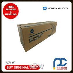 New & Original Konica Minolta IU711Y Yellow Imaging Unit for Bizhub C654 C754