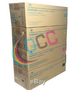 OEM IUP22 Black & Color Imaging Unit Set Konica Minolta For Bizhub C3850 C3350