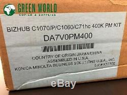 OEM Konica Minolta Bizhub PRESS C1060 C1070 PM Rebuild Kit