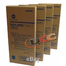 Oem Dv614 Developer Cymk Bizhub Press C1060 C1060l C1070 C1070p